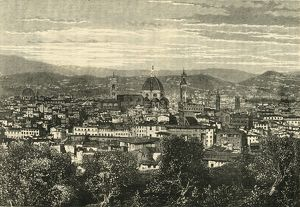 view florence belvedere 1890 creator unknown