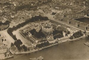 'A View of His Fortress Unimagined By William The Conqueror: The Tower from the Air&#39