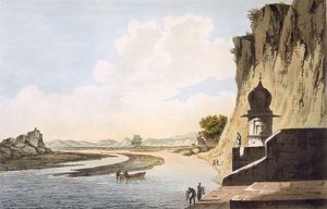 A View of the Gaut at Etawa, on the Banks of the River Jumna, pub. 1785-88. Creator