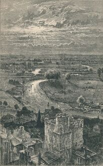 'View from the Round Tower', 1895. Artist: Unknown.