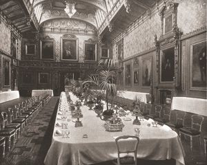 The Waterloo Chamber, Windsor Castle, Berkshire, 1894. Creator: Unknown