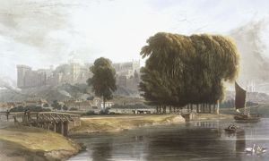 Windsor Castle from the Brocas Meadow, from 'Views of Windsor, Eton and Virginia Water&#39