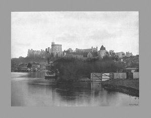 Windsor Castle, c1900. Artist: Russell & Sons.