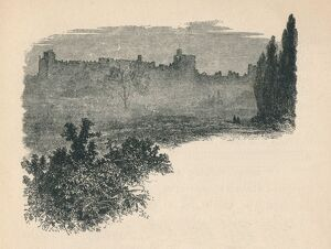 'Windsor Castle from the Home Park', 1895. Artist: Unknown.