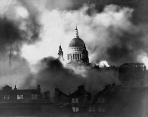 britain war/st pauls survives