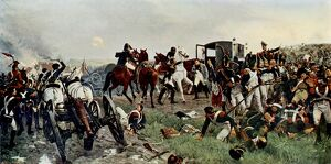 'On the evening of the Battle of Waterloo'