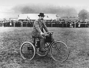 1895 Motor Exhibition - M Bouton