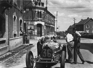 1932 French Grand Prix - Marcel Lehoux