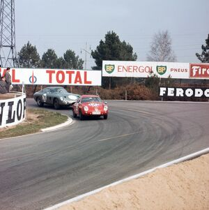 1963 Le Mans 24 hour Test Weekend.