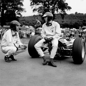 1964 Belgian Grand Prix - Dan Gurney and Jim Clark