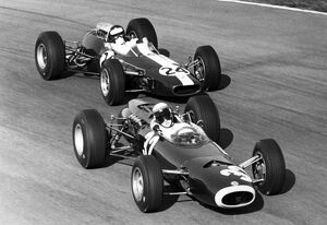 1965 Italian Grand Prix - Jackie Stewart and Jim Clark