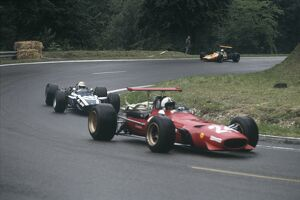 1968 French Grand Prix - Chris Amon and Johnny Servoz-Gavin