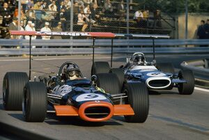 1969 Spanish Grand Prix - Pedro Rodriguez and JP Beltoise