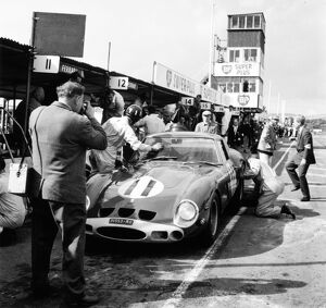 Goodwood, West Sussex, Great Britain. 24 August 1963.