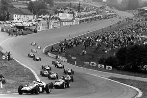 Spa-Francorchamps, Belgium. 19 June 1960.