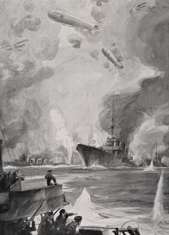 British Air And Naval Attack On Cuxhaven, Germany, December 1914