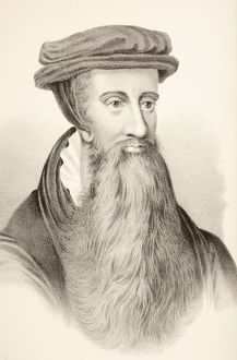 vintage/john knox c 1510 1572 scottish clergyman leader