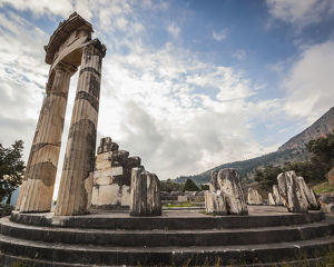 Sanctuary Of Athena; Delphi, Greece