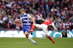 FA Cup - Semi Final - Reading v Arsenal - Wembley Stadium