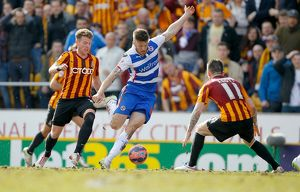 FA Cup - Sixth Round - Bradford City v Reading - Valley Parade (Selection of 12 Items)