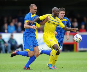 Pre Season Friendly - AFC Wimbledon v Reading - The Cherry Red Records Stadium