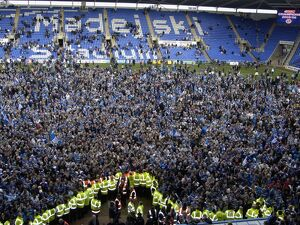 Reading Fans Celebrate winning the Championship Title