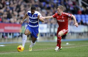 <b>Reading v Nottingham Forest</b><br>Selection of 11 items