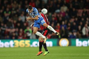 Bournemouth v Brighton and Hove Albion EFL Cup 19SEP17