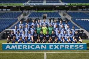 Brighton & Hove Albion Official Team Photo 2016_17 Season