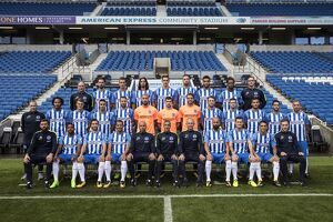 Brighton & Hove Albion Official Team Photo 2017_18 Season