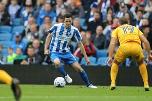 Brighton and Hove Albion v Preston North End EFL Sky Bet Championship 15OCT16