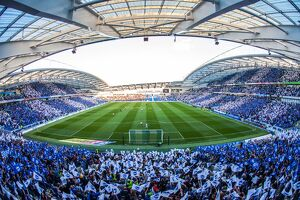 amex stadium/brighton hove albion v sheffield wednesday sky