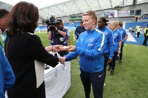 Brighton and Hove Albion Women Trophy Lift 31JUL16