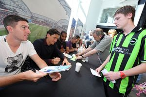 Club Shop Signing Event - 03-09-2013