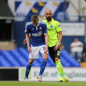 Ipswich Town v Brighton and Hove Albion Sky Bet Championship 28/08/2015