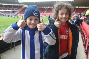Middlesbrough v Brighton and Hove Albion FA Cup 4th Round 27JAN18