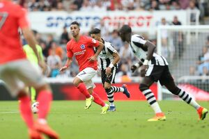 Newcastle United v Brighton and Hove Albion Sky Bet Championship 27/08/2016