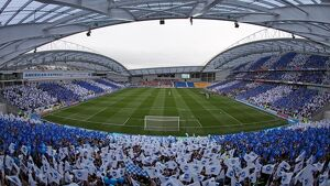 The opening of the American Express Community Stadium