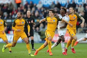 Swansea City v Brighton and Hove Albion Premier League 04NOV17