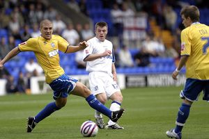 Tranmere Rovers away match action 2007-08