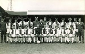 1969/70 first team squad