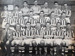 Albion 1956/57 team group