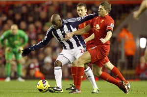 Barclays Premier League : Liverpool v West Bromwich Albion : Anfield : 11-02-2013 (Selection of 3 Items)
