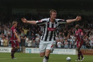Chris Brunt takes the applause - 2-1