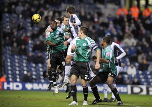 <b>Albion v Peterborough United, FA Cup 3, 3 January 2009</b><br>Selection of 13 items