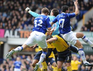 <b>Everton v Albion, 28 February 2009</b><br>Selection of 12 items
