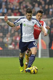 SOCCER : Barclays Premier League - West Bromwich Albion v Arsenal