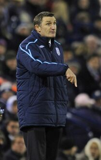 Tony Mowbray makes a point