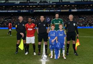 Soccer - FA Cup - Quarter Final - Replay - Chelsea v Manchester United - Stamford Bridge