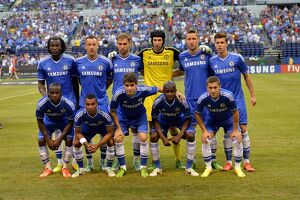 team photographs/soccer guinness international champions cup